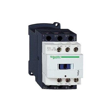 CONTACTEUR TESYS LC1D 3P AC3 440V 18 A BOBINE 24 V CA